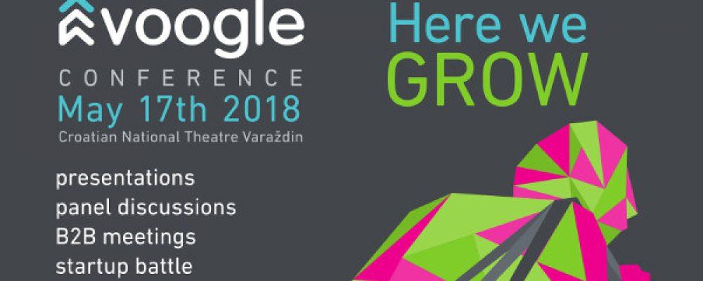 """Voogle konferencija 2018 – Uspješne priče """"lokalnih heroja"""", 10.000€ za pobjednika startup natjecanja"""