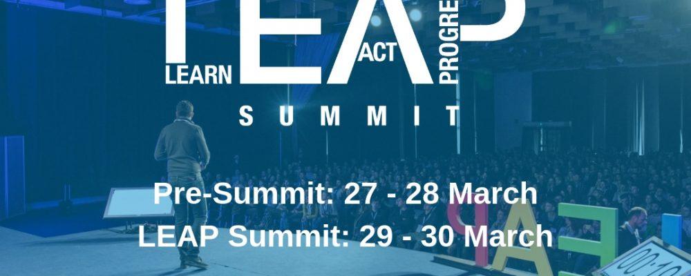 Sudjeluj na najvećoj internacionalnoj konferenciji za mlade- LEAP Summit
