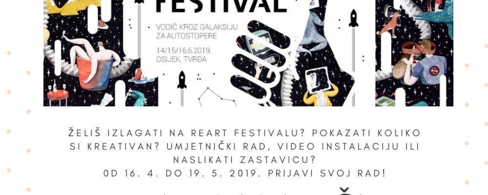 """ReArt 2019 – natječaj za multimedijalnu izložbu """"Vodič kroz galaksiju"""""""